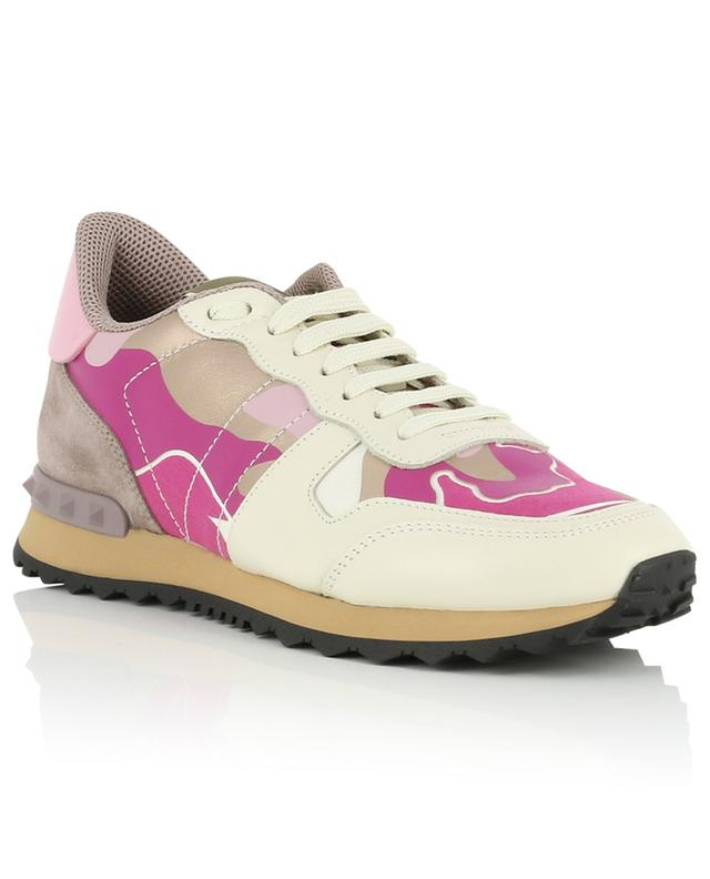 Camouflage multi material sneakers VALENTINO