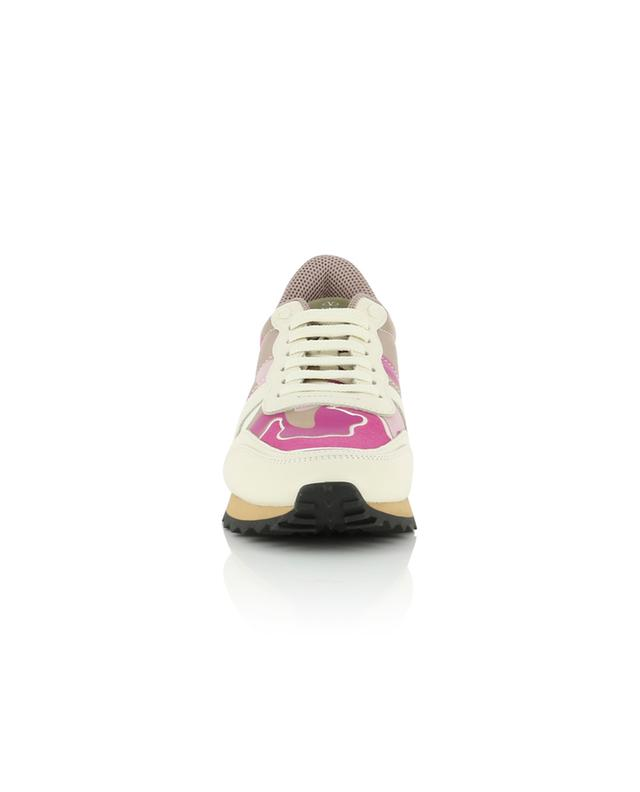 Materialmix-Sneakers Camouflage VALENTINO