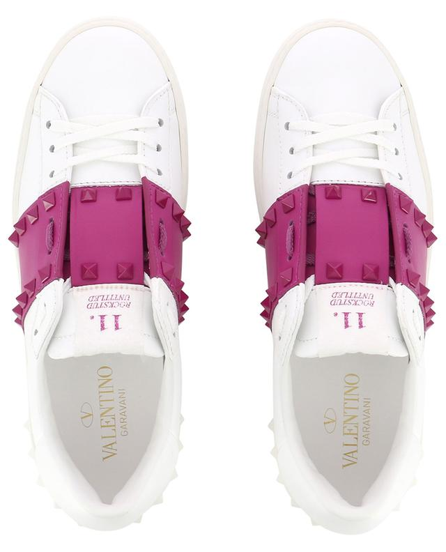 Baskets avec bande de couleur 11. Rockstud Untitled VALENTINO