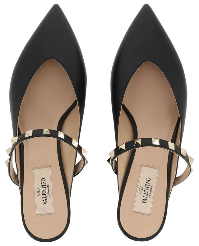 Rockstud 45 heeled leather mules VALENTINO