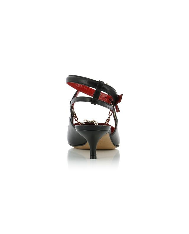 VLOGO open chain detail strappy pumps VALENTINO