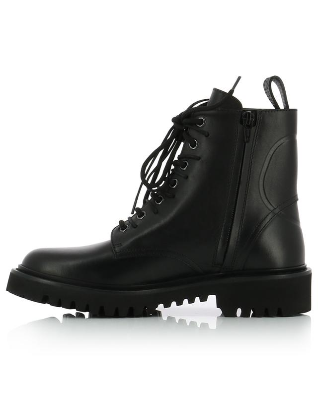 VLOGO leather combat ankle boots VALENTINO