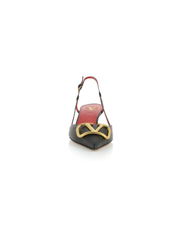 Slingback-Pumps aus Leder VLOGO 40 VALENTINO