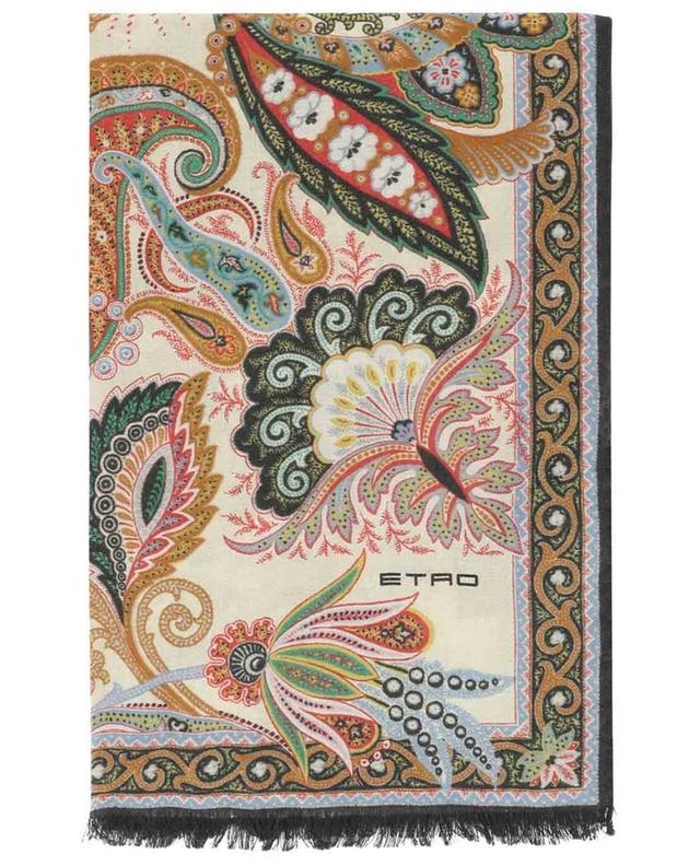 Calcutta lightweight cashmere and silk scarf ETRO