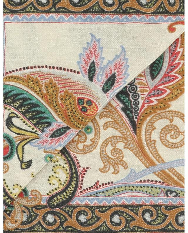 Calcutta lightweight cashmere and silk scarf ETRO