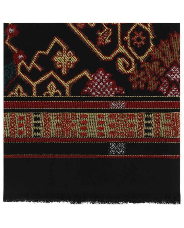 Schal aus Wolle mit Print ETRO