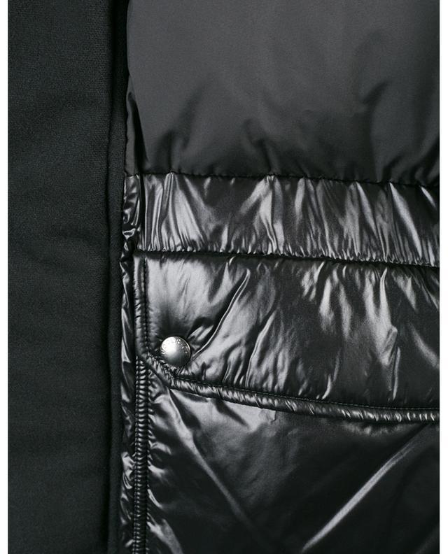 Oversize-Daunenjacke aus Wollmix Intarsia Mountain WOOLRICH