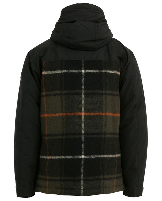 Lined check parka WOOLRICH