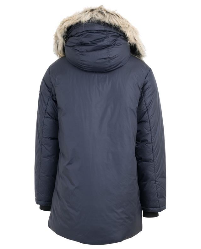 Faux fur adorned hooded parka WOOLRICH
