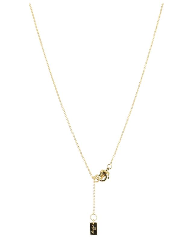 Eye gold plated silver necklace AVINAS