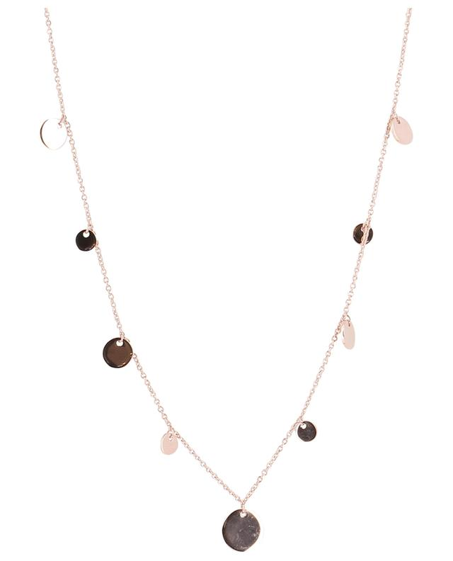 Confetti pink gold plated silver necklace AVINAS