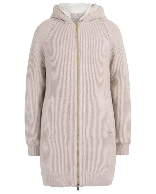 Cashmere cardigan and padded vest BRUNELLO CUCINELLI