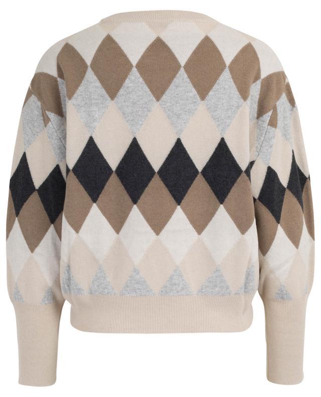 Checked wool, cashmere and silk jumper BRUNELLO CUCINELLI