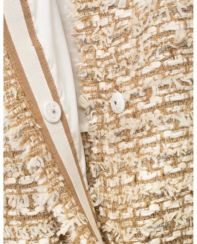 Blazer trapèze long en tweed Alinia URSULA ONORATI