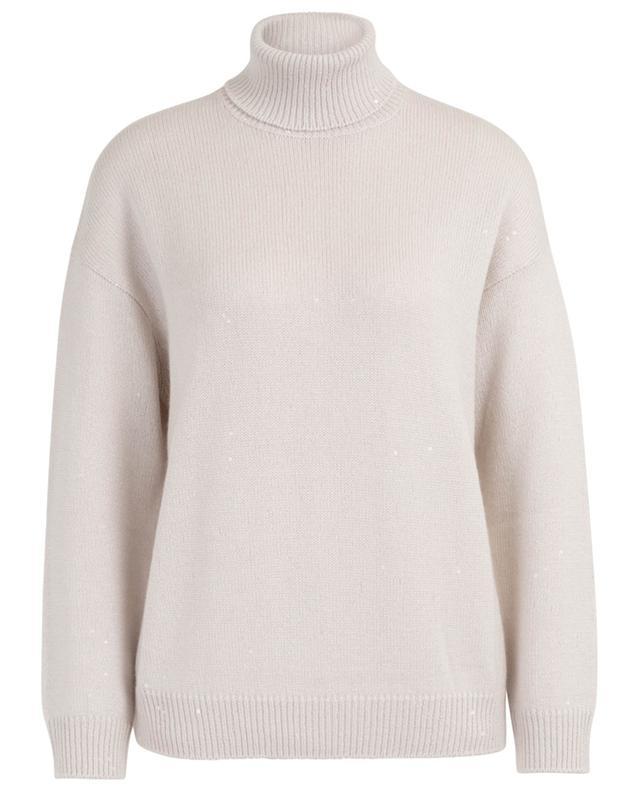 Cashmere and silk blend turtleneck jumper BRUNELLO CUCINELLI