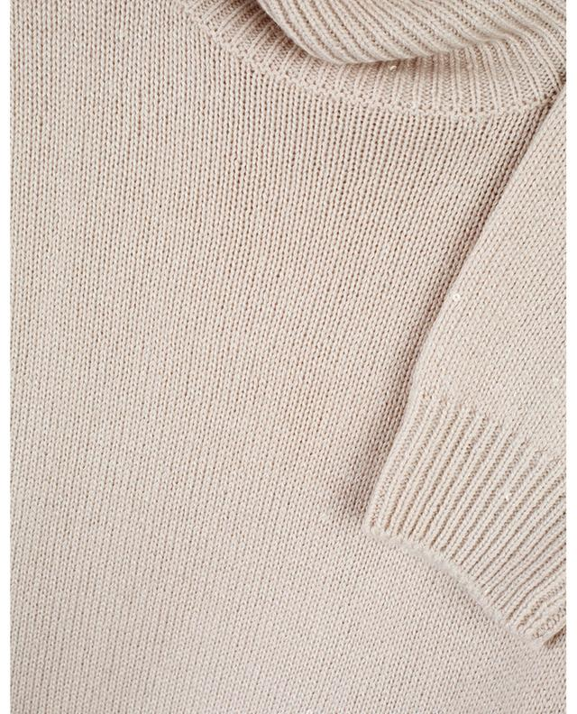 Cashmere and silk blend turtleneck jumper BRUNELLO CUCINELLI