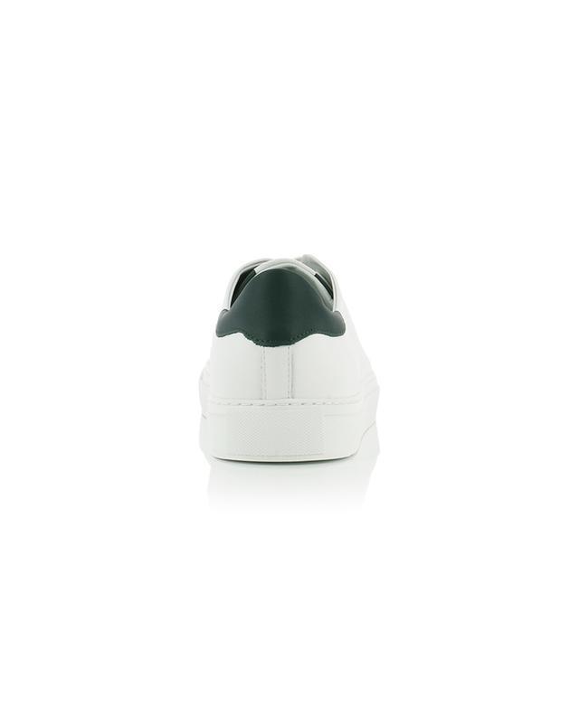 Baskets en cuir blanc et vert foncé Clean 90 AXEL ARIGATO