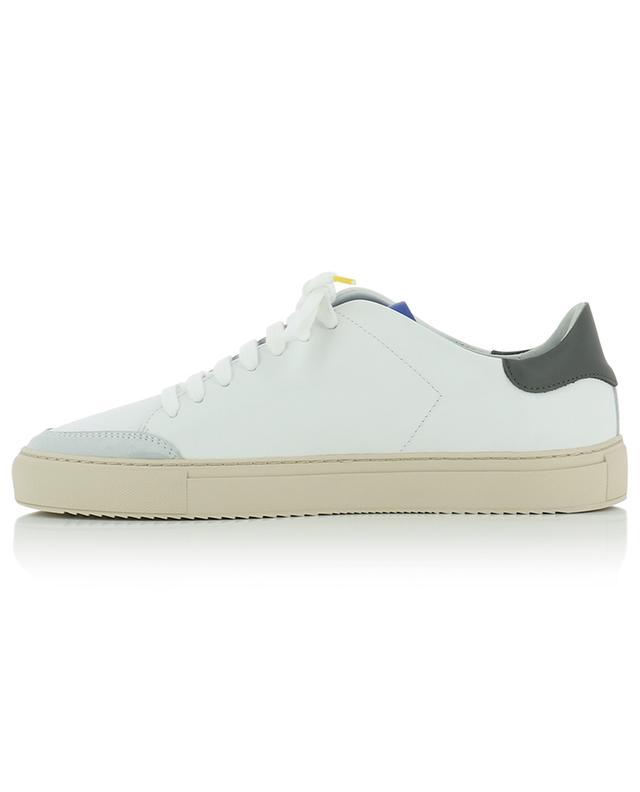 Baskets en cuir blanc, noir et bleu Clean 90 AXEL ARIGATO