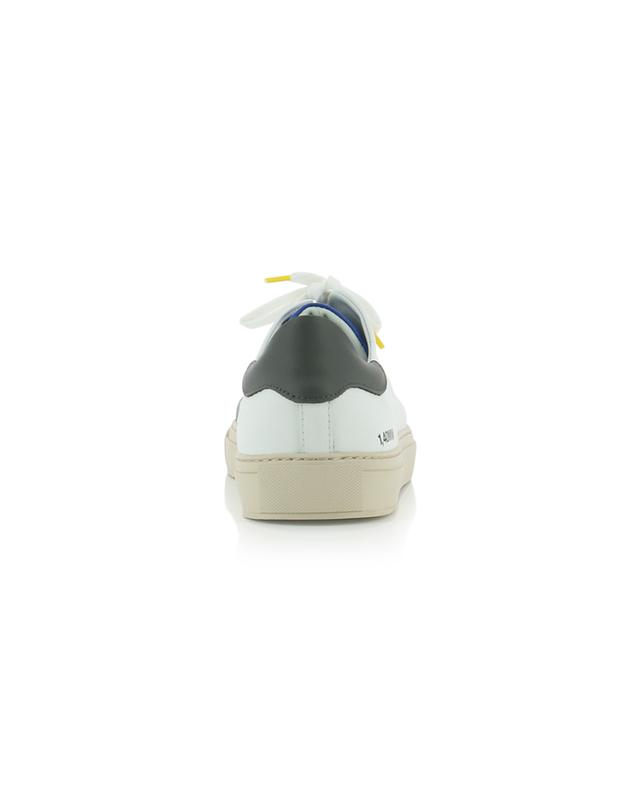 Clean 90 white, black and blue leather sneakers AXEL ARIGATO