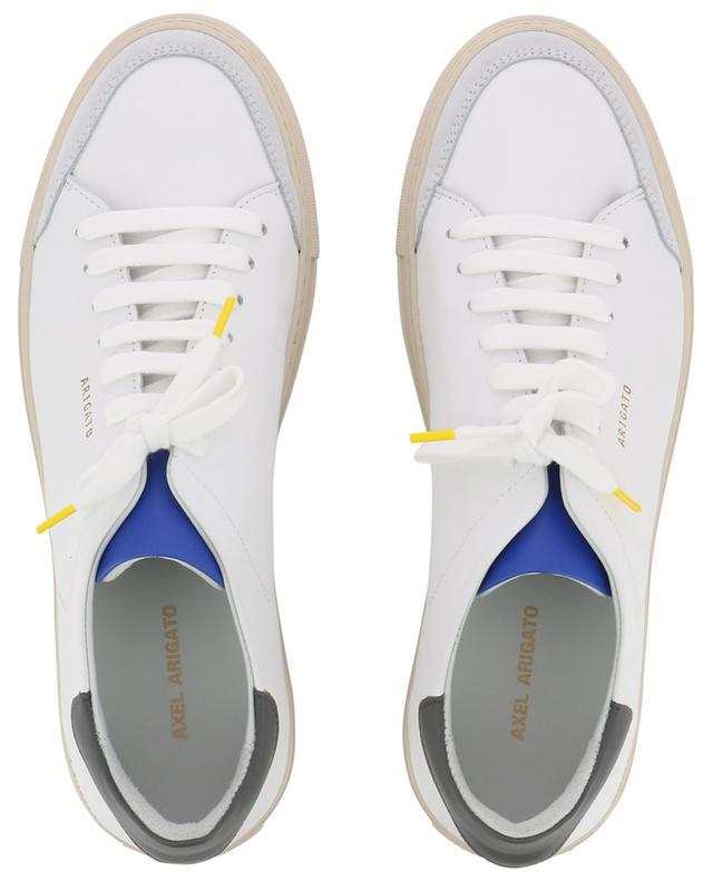 Sneakers aus weissem, schwarzem und blauem Leder Clean 90 AXEL ARIGATO