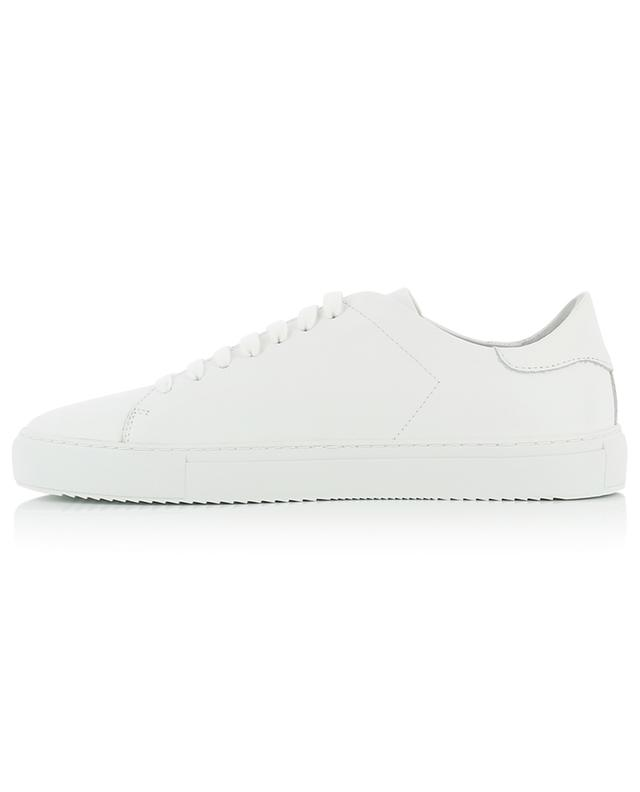Weisse Ledersneakers mit Vogelstickerei Clean 90 AXEL ARIGATO