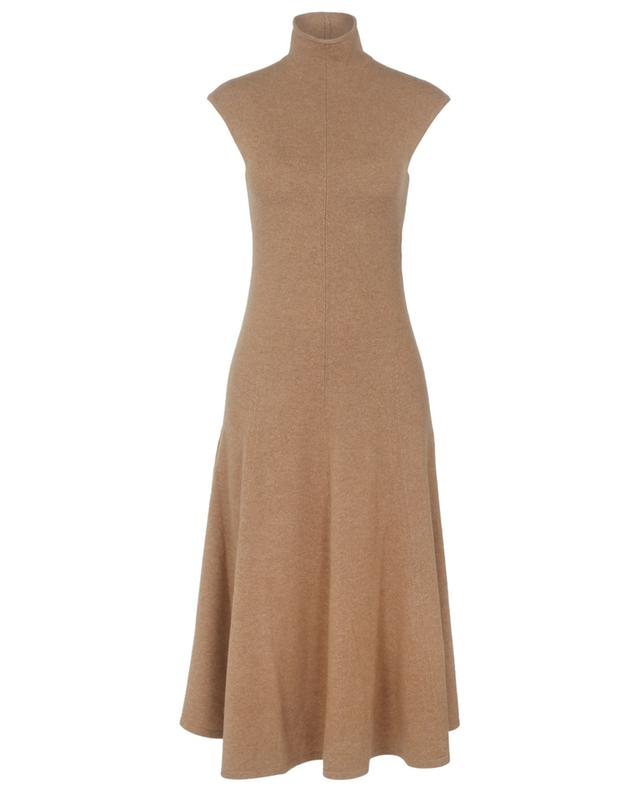 Sleeveless jumper dress in cashmere with stand-up collar POLO RALPH LAUREN