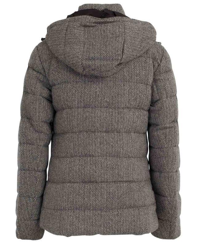 Doudoune à capuche en laine motif chevrons POLO RALPH LAUREN