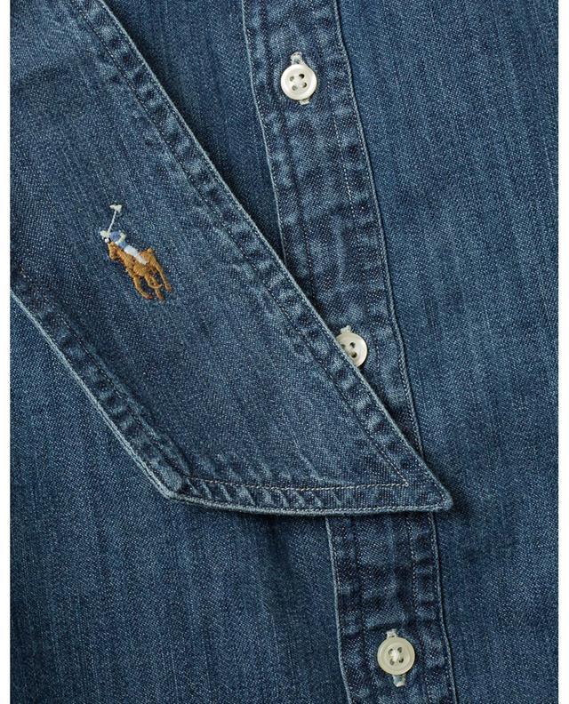 Chemise en jean avec lavallière POLO RALPH LAUREN
