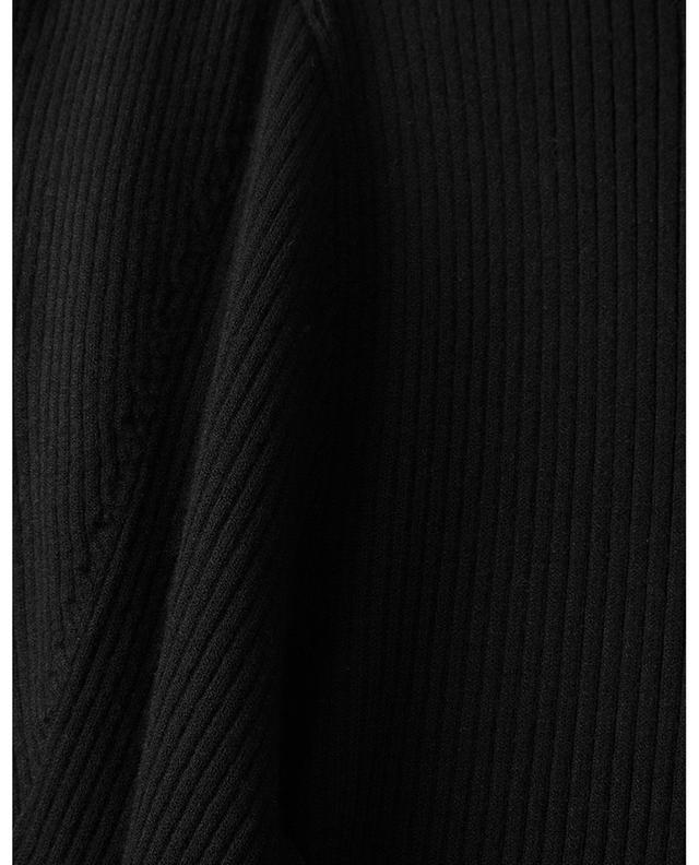 Rib knit puff sleeve sheath jumper POLO RALPH LAUREN