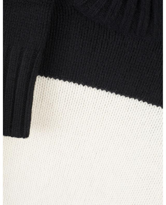 Pull à col roulé en laine bicolore POLO RALPH LAUREN