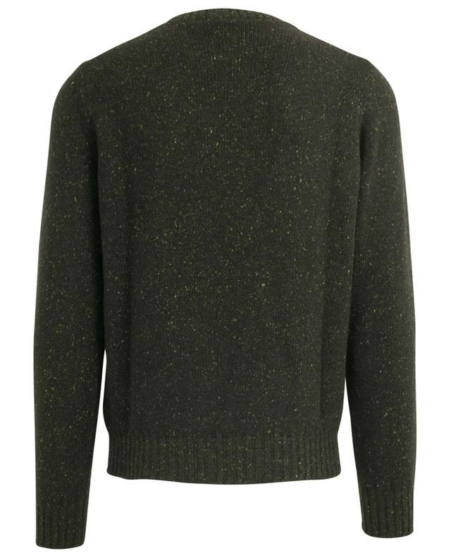 Mottled round neck cashmere jumper FEDELI