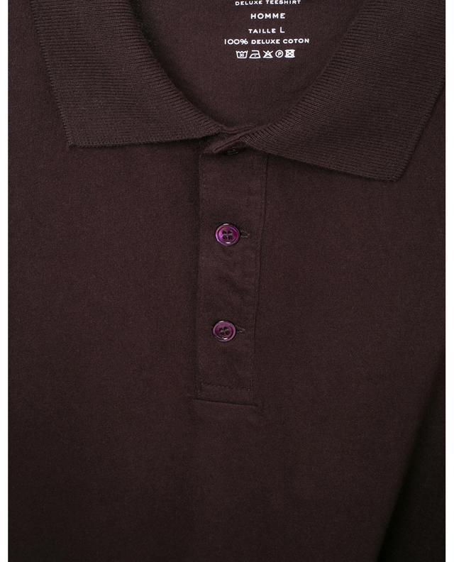 Polo à manches courtes en coton MAJESTIC FILATURES