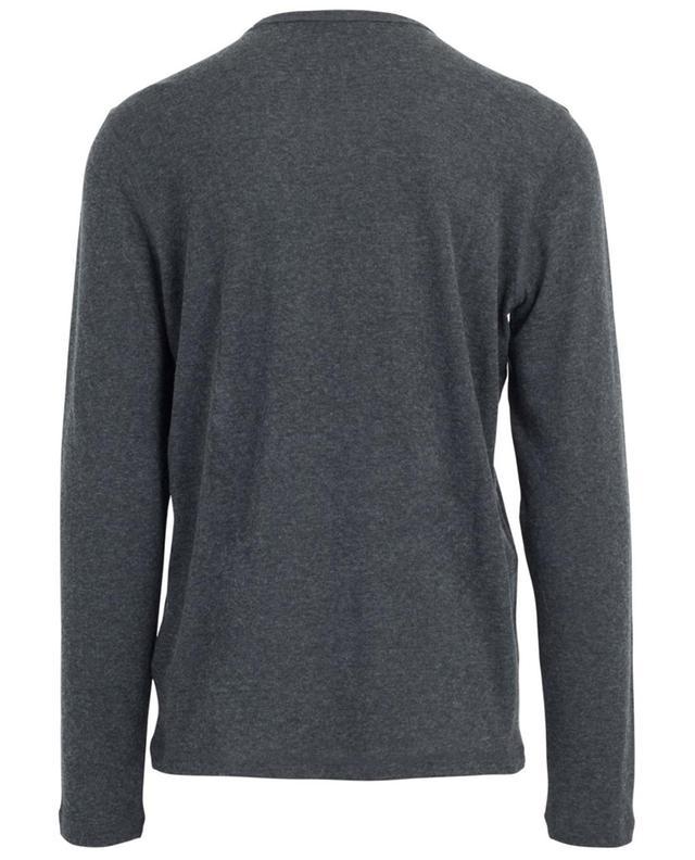 T-shirt manches longues en coton et cachemire MAJESTIC FILATURES