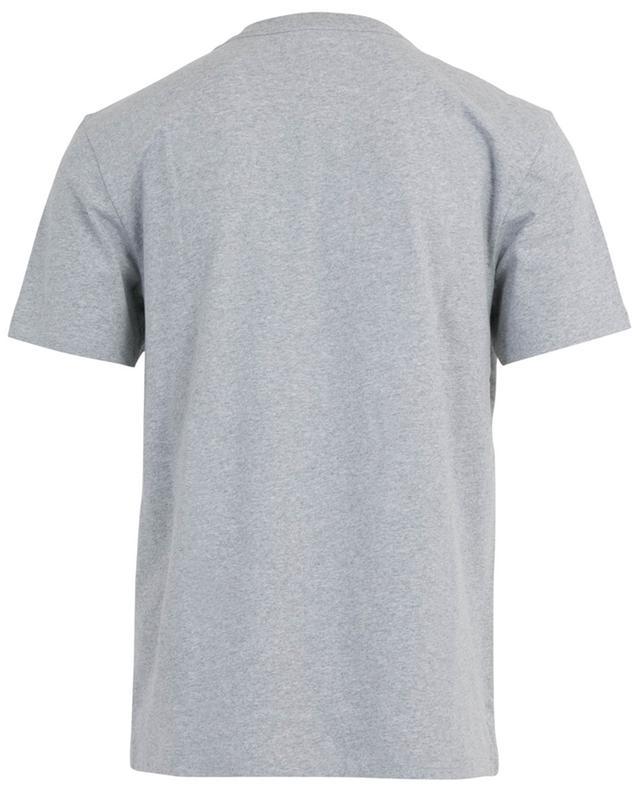 T-shirt slim en jersey brodé ami AMI