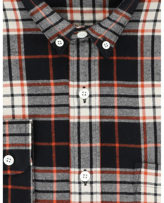 Chemise à carreaux en flanelle AMI