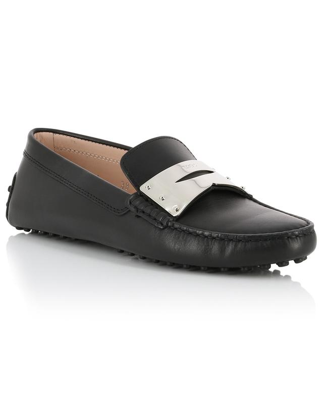 Gommino smooth leather loafers TOD'S