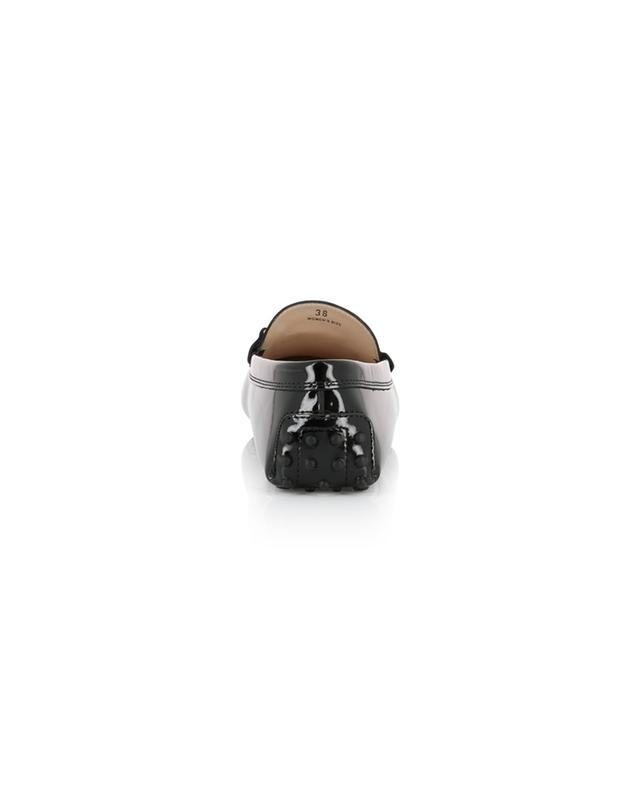 Mocassins en cuir verni Gommino TOD'S