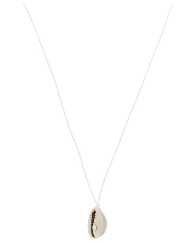Collier sur corde Coquillage et Strass COQUILLAGE CRUSTACE