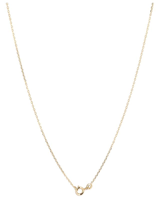 Gold plated necklace with natural shell COQUILLAGE CRUSTACE