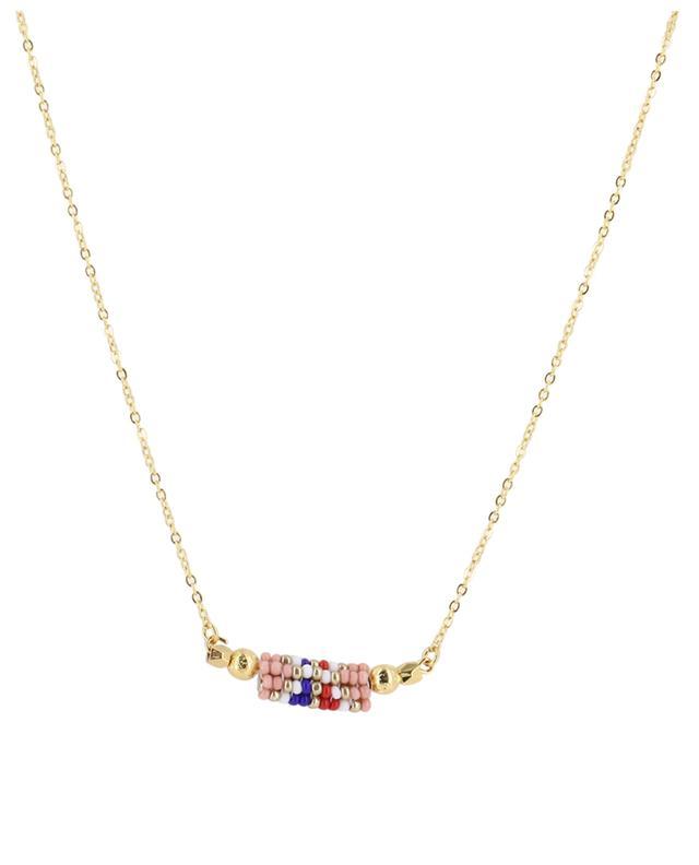 Collier avec perles tissées AMAHLE