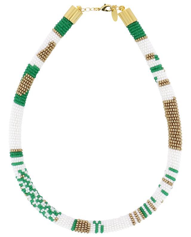 Woven beads necklace AMAHLE