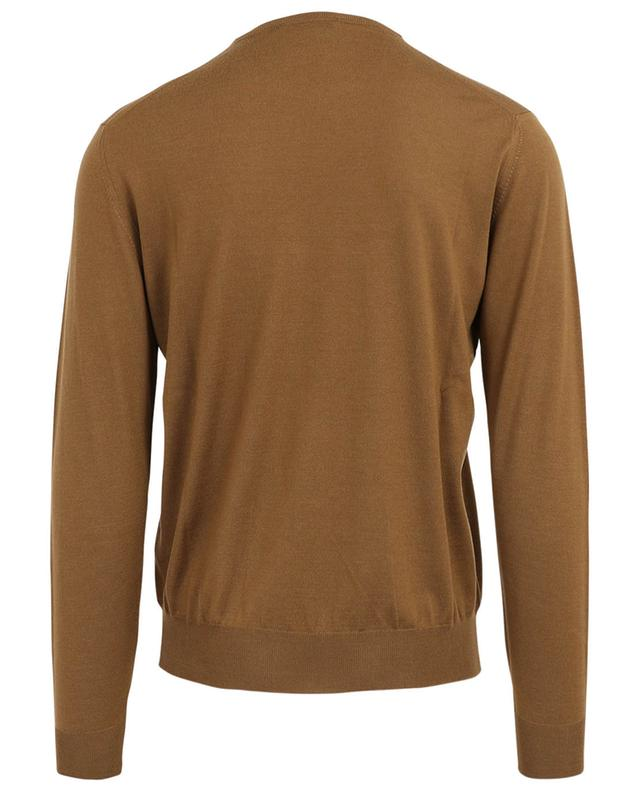 Royal Merino fine knit crew neck jumper FILIPPO DE LAURENTIIS