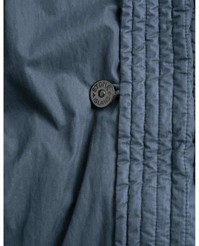 Parka en coton avec deux capuches Fili Resinata Down-TC STONE ISLAND
