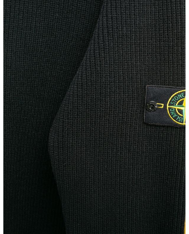 Pull texturé épais en laine mélangée STONE ISLAND