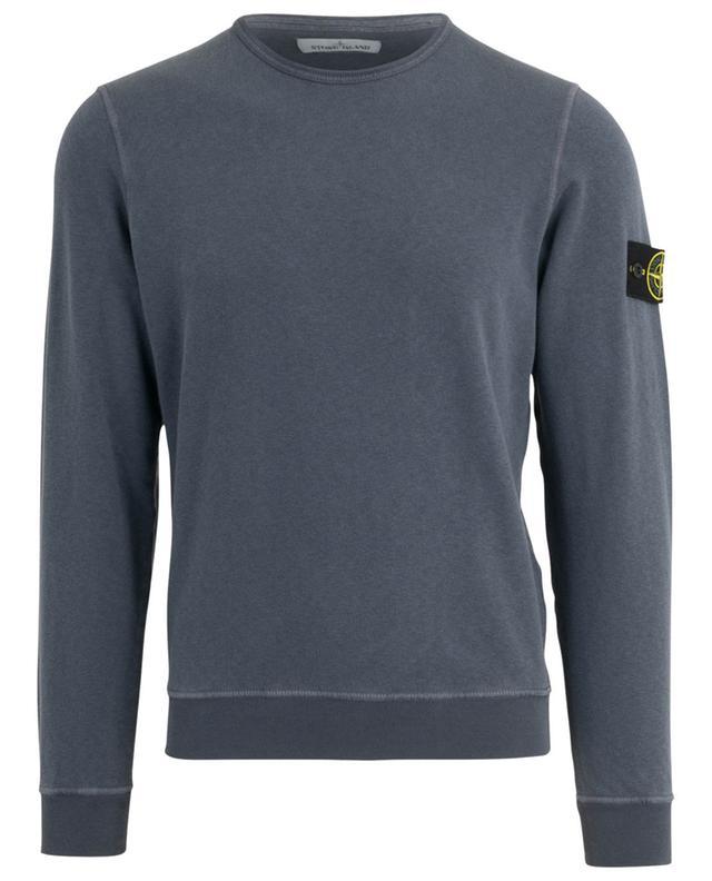 Sweat-shirt léger effet délavé logo rose des vents STONE ISLAND