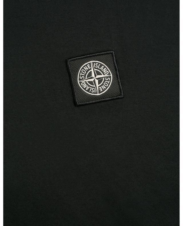 T-shirt en jersey patch logo Rose Des Vents STONE ISLAND
