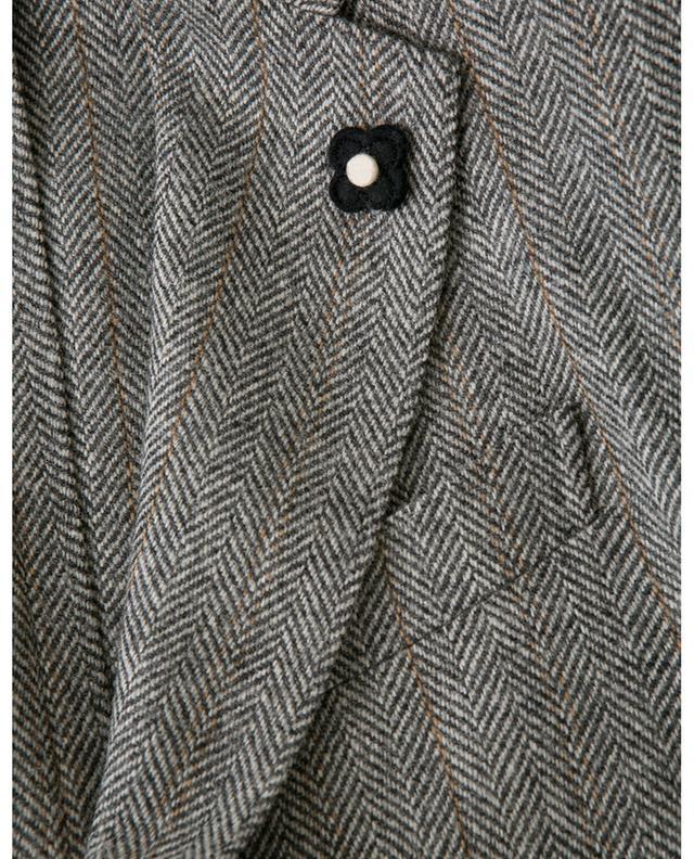 Blazer aus Wolle mit Fischgrätenmotiv LARDINI