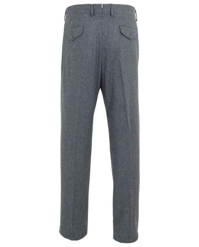 Pantalon à pinces en laine LARDINI