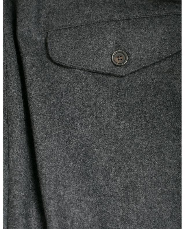 Faltenhose aus Wolle LARDINI