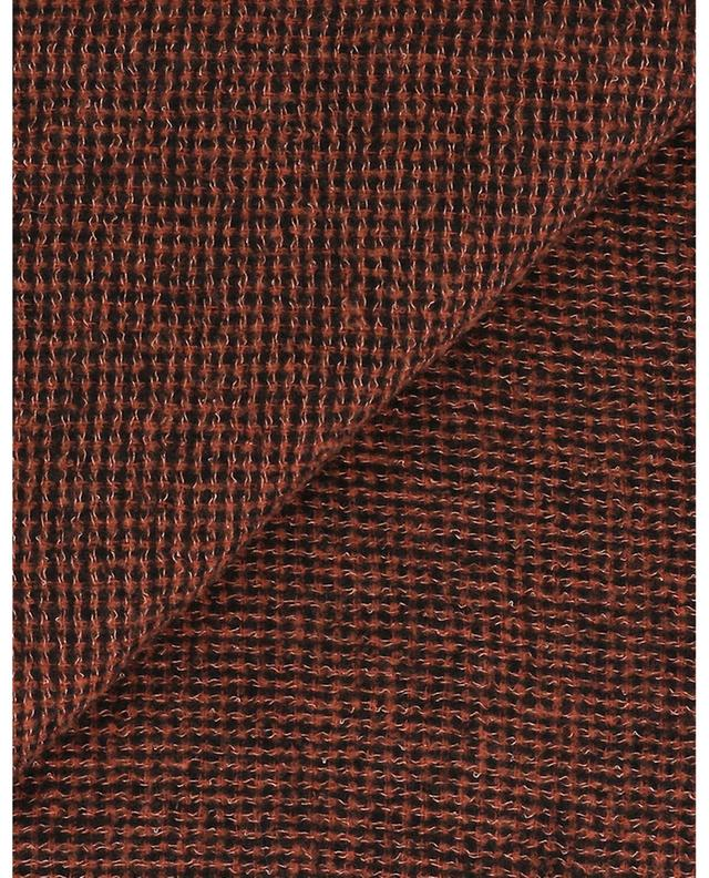 Marcolino houndstooth check scarf FALIERO SARTI
